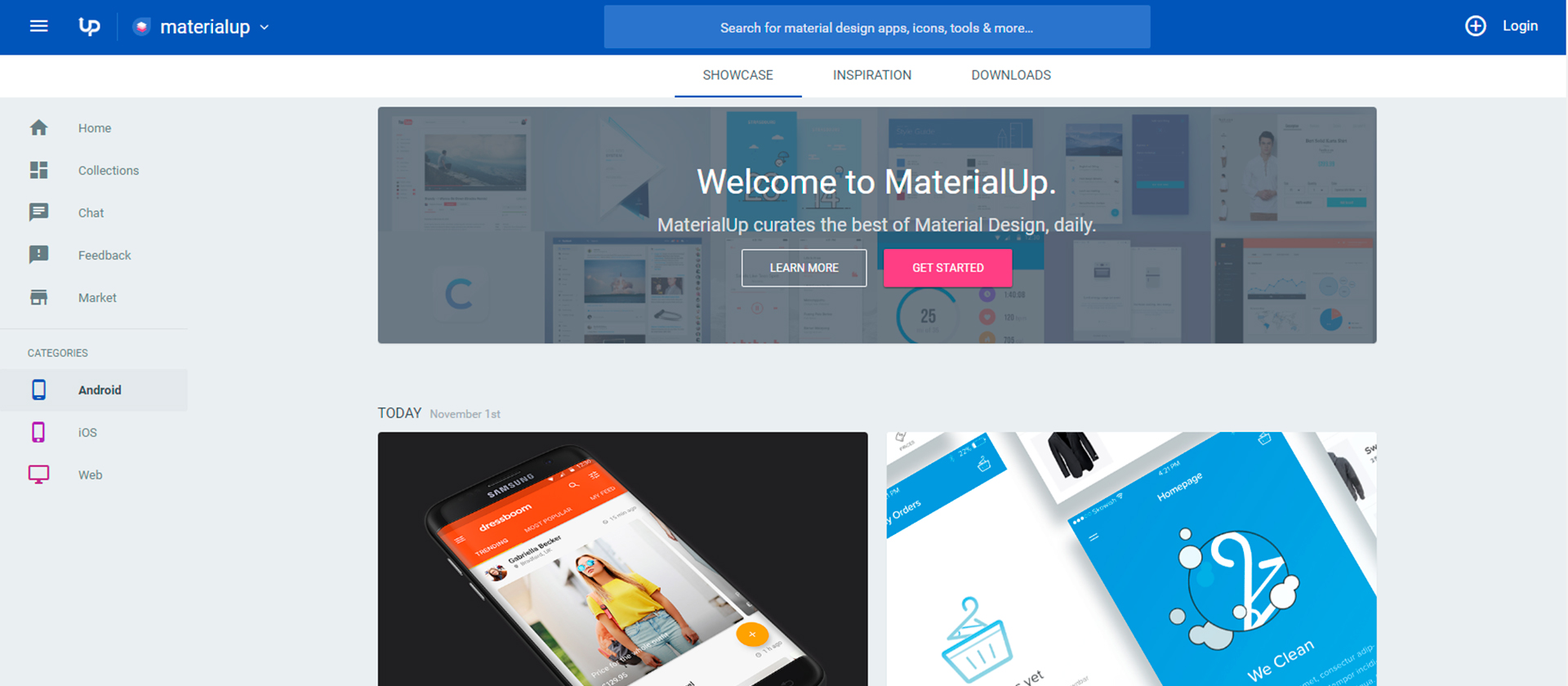 up-material-design
